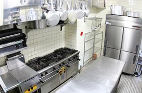 業務用厨房機器の施工・販売